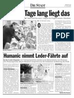20020731 Kleine Zeitung - Humanic nimmt Leder-Faehrte auf