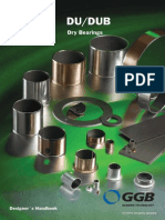 DU Sliding Material Specifications