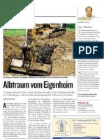 20050325 Kleine Zeitung - Albtraum vom Eigenheim