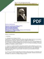 Fray Antonio de Monterosso- Contestando a Los Test de Jehova-1962