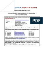 Public Consultation Paper 100114 Security Commission of Malaysia