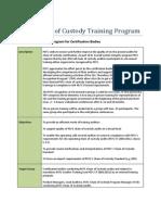 PEFC Chain of Custody Auditor Program - Training Recognition Program