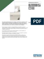 Epson TM T20 Información de Producto