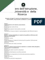 testo riforma università 2009