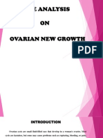 presentation in Ovarian New Growth