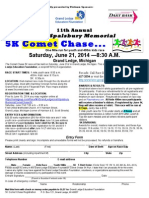 Comet Chase Race Form 2014