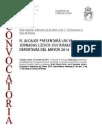 140422 CV- VI Jornada Lúdico-culturales y Deportivas Del m…