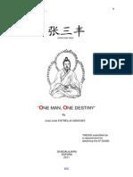 J. J. Estrella Sanchez - Zhang San Feng. One Man One Destiny (Thesis)