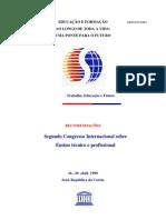 Congresso Ensino Tecnico 1999