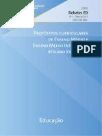 Ensino Médio Integrado Unesco 2011