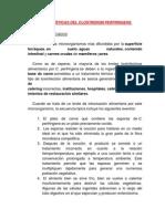 CA Racterísticas Del Clostridium Perfringens
