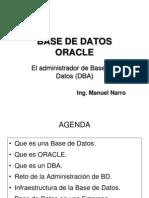 Semana 01 El Administrador de Bases de Datos (DBA)
