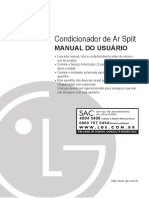 Manual Do Usuario de Ar Condicionado Split Neo Plasma LG