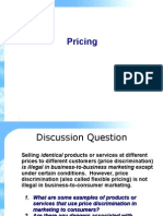 Product Pricing Session 4