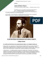 A Estratégia de Massas de Neno Vasco - Anarkismo