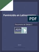 feminicidio americalatina