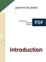 __le Diagramme de Pareto__ TAHRI - YAZAMI
