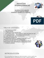 Nuestra Exposición de Negocios Internacionales