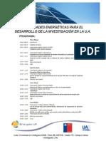 Programa Seminario Del 25
