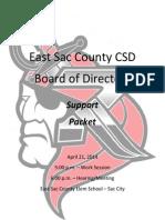 April 21, 2014 ESC School Board Packet