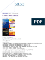 C and C++ Books Collection _ eBooks PDF Free Download