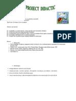 Proiect de lectie ed. civica cls a III-a