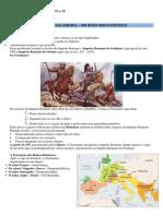 A Europa Crista Do Seculo VI a IX - Resumo