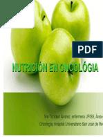 Nutrición y Oncologia_Trinidad Alvarez