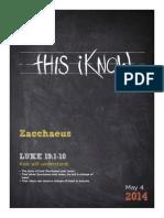 5 Zacchaeus