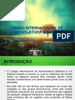 Novo Codigo de Nomenclatura Botanica Historico PDF