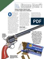 Uberti Long Barrelled Revolver Review Shooting Sports Nov09