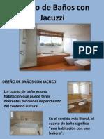 Diseño de Baños Con Jacuzzi