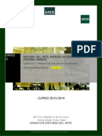 Pec. Trabajo de Evaluacion a Distancia Curso 2013-2014