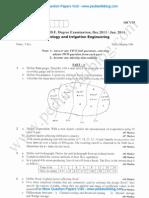 Hydrology & Irrigation Engineering Jan 2014