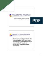 Management Et Structure