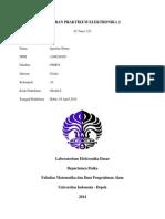 Laporan Praktikum Elektronika 6