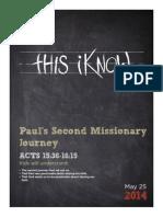 8-Pauls Second Journey