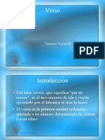 Introduccion al Verso