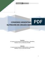 Consenso Argentino Cirugia Bariatrica