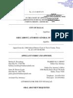 City of Dallas Brief