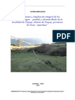 Estudio Hidrológico Lambraspata