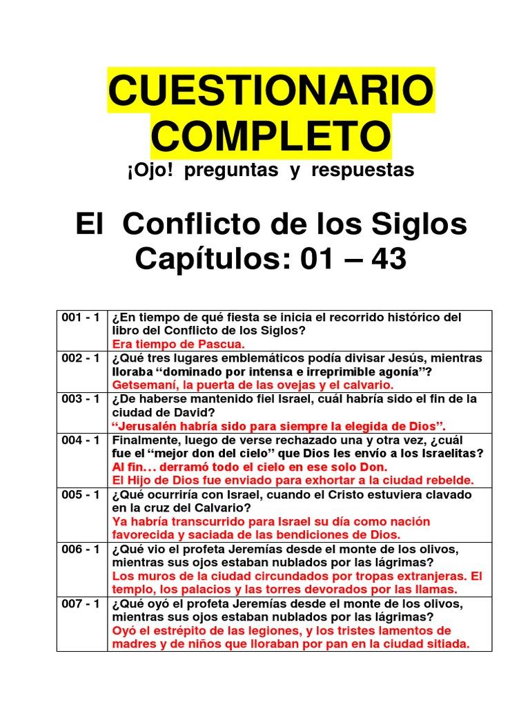 El Conflicto De Los Siglos Preguntas Y Respuestas 771 Preguntas Martin Luther Cristo Titulo