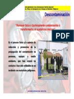 Microsoft PowerPoint - 25-27 HazMat Descontaminacion - Copia [Modo de Compatibilidad]