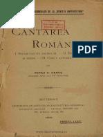 Cântarea României - Petru Haneș
