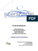 Plan de Negocios Marketing Olfativo