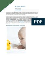 La Estimulación Visual Infantil