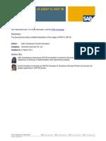 Role and Scope of ABAP in SAP BI