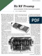 10 GHz RF Preamp