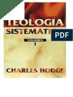 Chares Hodge Teologia Sistematica i