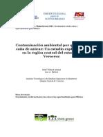 Contaminacion Ambiental Por Quema de Caña
